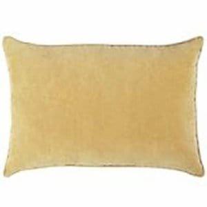 Gold Silk Pillow