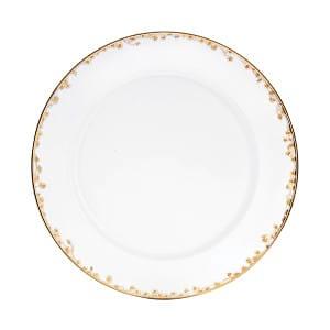 Gold Fleur Salad Plate