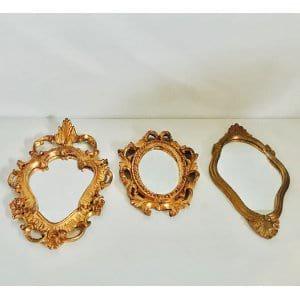 Trio Gold Mirrors