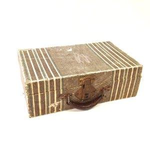 Jada Striped Suitcase