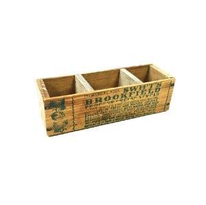 Swifts Wood Box