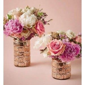Blush Mercury Vases
