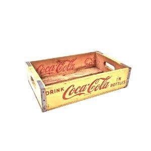 Yellow Coke Crate