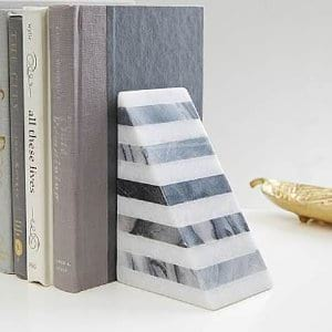 Marbled Bookends