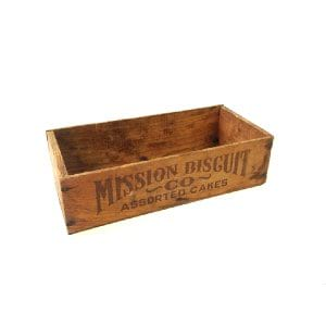 Bisquit Wood Box