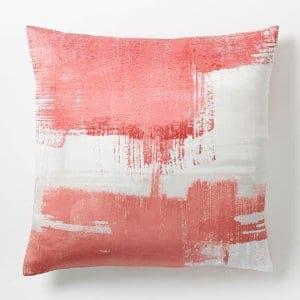 Poppy Silk Pillow