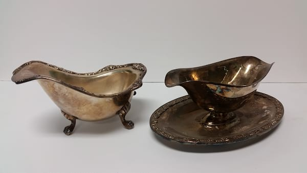 Silver - Gravy Boat Bowl