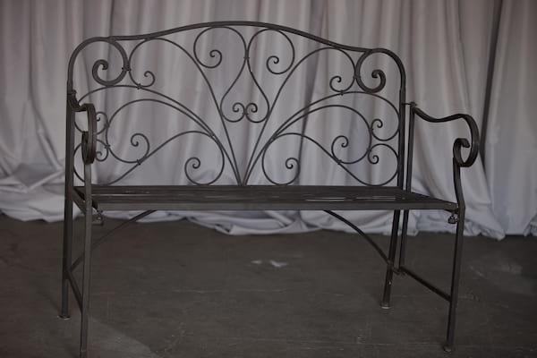 Bench - Dark Wrought Iron