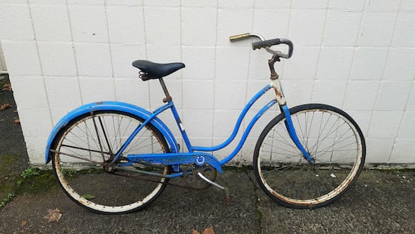 Bike - Blue retro
