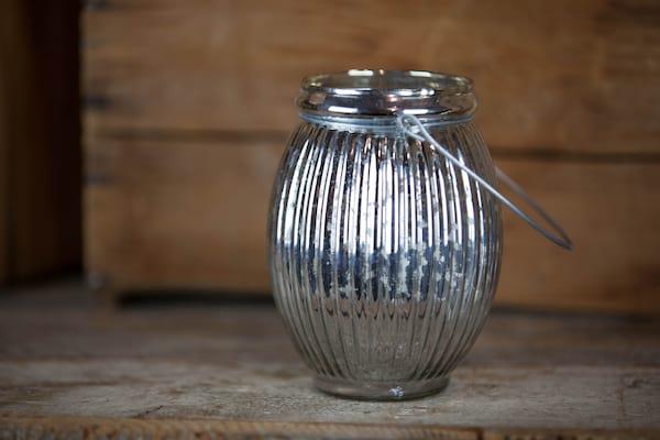 Vase - Mercury Glass Hanging
