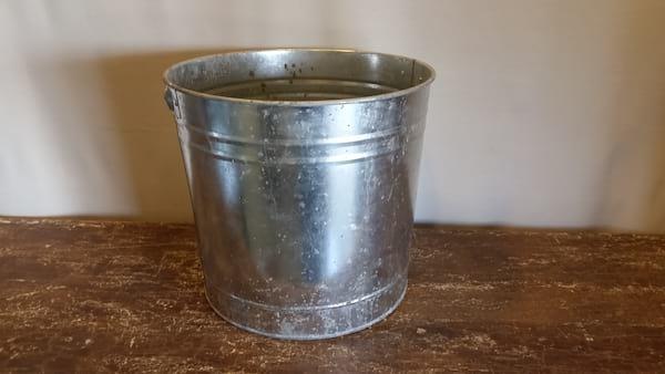 Bucket - Galvanized Large