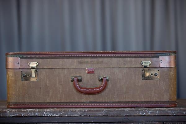 Suitcase - Canvas California