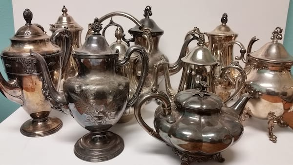 Teapot - Silver Assorted