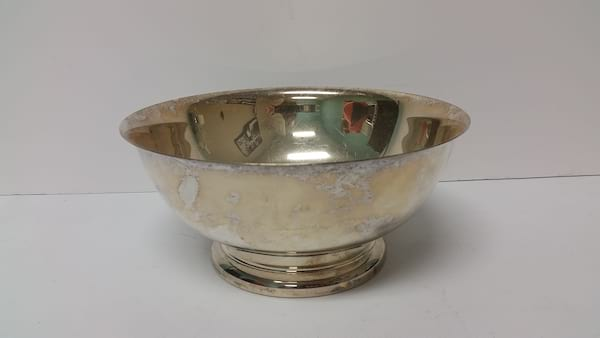 Silver - Small Bowl with Pedestal