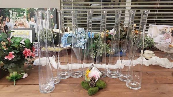 Vase - Single Stem Tall Glass