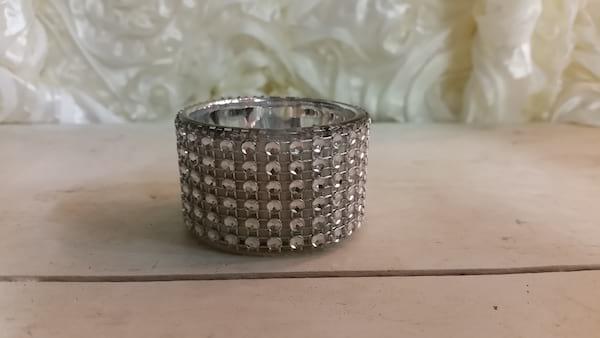Votive - Short Glass Diamond