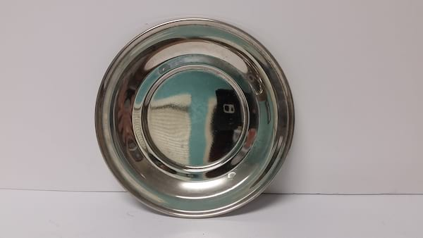 Silver - Small Shiny Plate