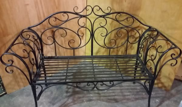 Bench - Fancy Wrought Iron