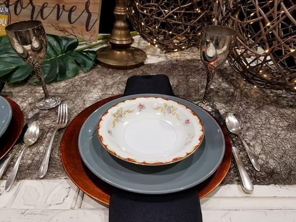 Plate - Dinner Grey