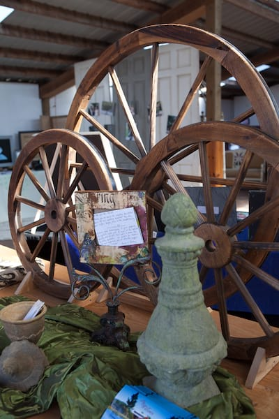 Wagon Wheel - large wood
