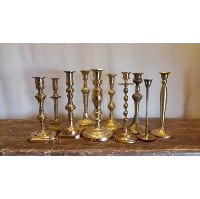 Candlestick - Brass Large Assorted