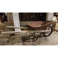 Wheelbarrow - Wood Handles