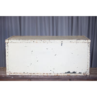Trunk - White Lift-Off Lid