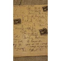 Toppers - Burlap script