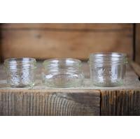 Mason Jars - 1/2 pint Assorted Short