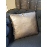 Pillow - Silver metallic