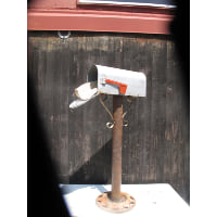 Mailbox - Standing wheel base
