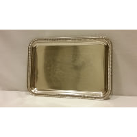Tray - Silver Rectangle Small
