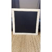 Chalkboard - Erika square white