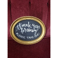 Chalkboard - Thank You  -please take one!