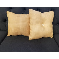 Pillow - Natural burlap square