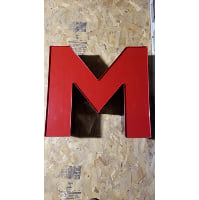 Marquee - M Red