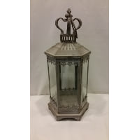 Lantern - Grey Six Sided Crown Top