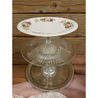 Pedestal - Three Tier Pansy Top