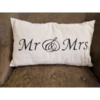 Pillow - MR & MRS linen