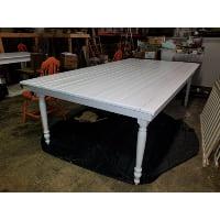 Table - Turn Leg White