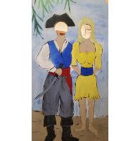 Pirate Photo Wall