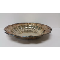 Silver - Medium Bowl Notched Edge