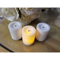 Candle - WAX Votive Battery Small