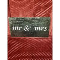 Sign - Mr & Mrs Block