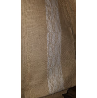 Runner - Burlap with lace stripe