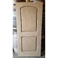 Door - Blush and White