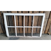 Window - White/Grey 8 Pane