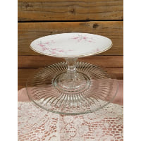 Pedestal - Two Tier Cherry Blossom