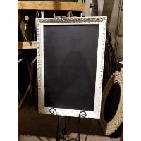 Chalkboard - Georgette white