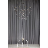 Candelabra - Silver Floor Five Candle
